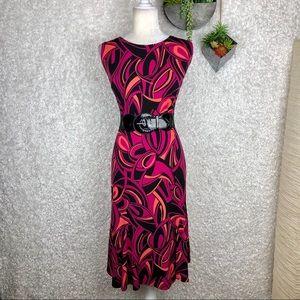 Julian Taylor Belted Dress | 14